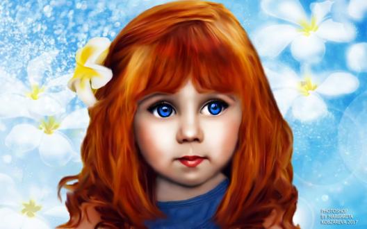 Светленькие девочки с голубыми глазами. - Наши лапочки 99