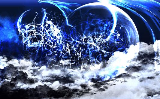 Обои Иллюзия в небе, by saya