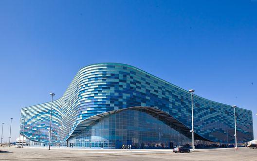 Обои Ледовый дворец спорта Айсберг, Сочи, Россия