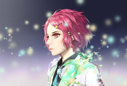 Обои Който Минасэ / Koito Minase из аниме Мириады цветов фантомного мира / Musaigen no Phantom World