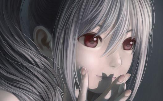 Обои Ранко Кандзаки / Ranko Kanzaki из аниме Идолмастер: Девушки-золушки / The iDOLM@STER Cinderella Girls, by Nekopuchi