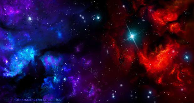 Обои Космическая туманность, by Stephanie Shimerdla