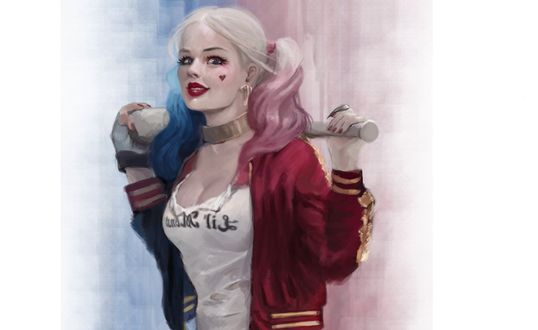 Обои Harley Quinn / Харли Квинн из фильма Suicide Squad / Отряд Самоубийц