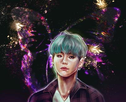 Обои Шуга / Suga / Мин Юн Ги / Min Yoon Gi-участник южно-корейской группы BTS / BangTan Boys / Bulletproof Boy Scouts, by ohsh