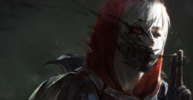 Обои Zed / Зед из игры League of Legends / Лига Легенд, by OrekiGenya