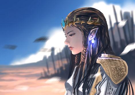Обои Зельда / Зельда из серии игр The Legend of Zelda, by anonamos