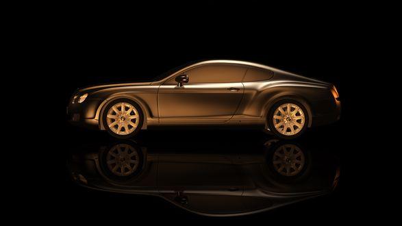 Обои Британский автомобиль Rolls-Royce Coupe
