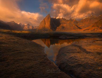 Обои Горы под облаками, фотограф Patrick Marson Ong