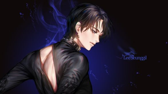 Обои Katsuki Yuri / Катсуки Юри из аниме Юрий на льду! / Yuri on Ice!