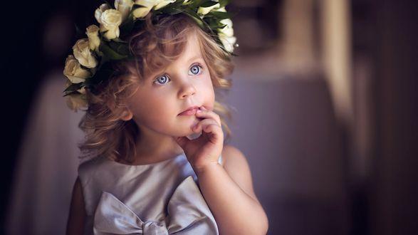 Прически девочке на выпускной в садик фото