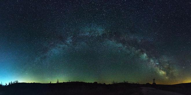 Обои Северное сияние на небе. Фотограф Цветан Ганев