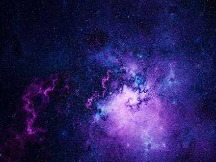 Обои Космическая туманность, by KPEKEP