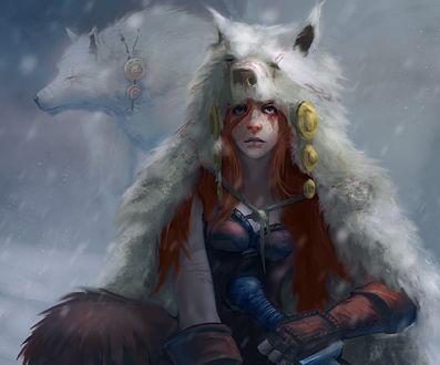 Обои Nora the Hunter pt2 / Нора Охотник pt2, by mattforsyth