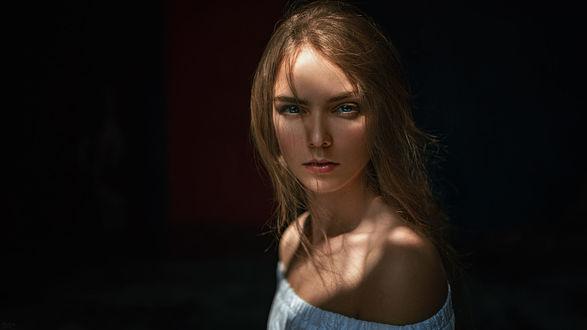 Обои Модель Маша, фотограф Георгий Чернядьев