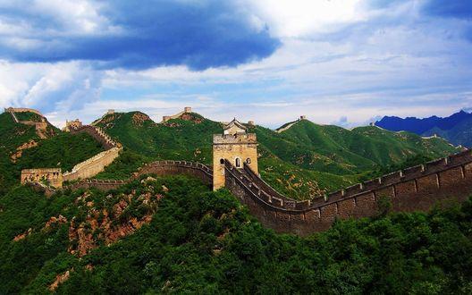 Обои Великая китайская стена / the great wall of china