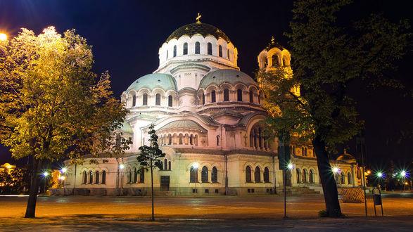 Обои Храм-памятник Святого Александра Невского-кафедральный патриарший собор Болгарской Православной Церкви.