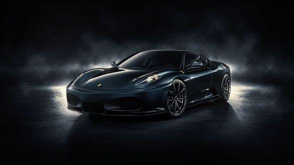Обои Ferrari F430 Blackangel, by DuronDesign