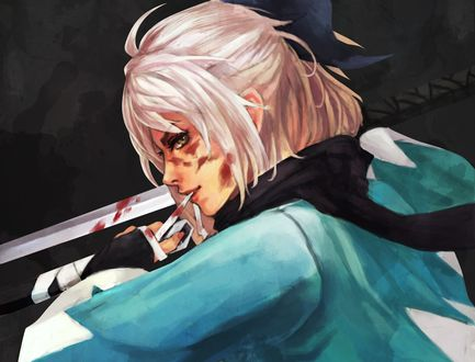 Обои Сейбер / Saber из аниме Судьба: Начало / Fate / Zero, by Monori rogueш