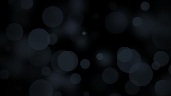 Обои Темно-серое боке на черном фоне