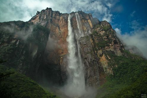 Обои Водопад Анхель в Венесуэле
