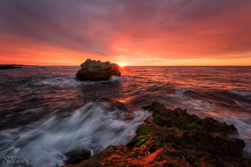 Обои Работа Золотой восход солнца. Фотограф Svilen Simeonov -