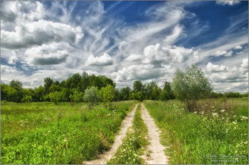 Обои Дорога, зовущая к небу, фотограф Optina