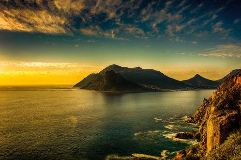 Обои Красивый морской пейзаж от фотографа Olaf Holland