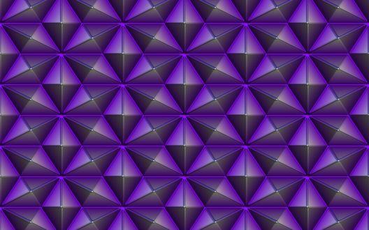 Обои Абстрактные геометрические фигуры лилового цвета