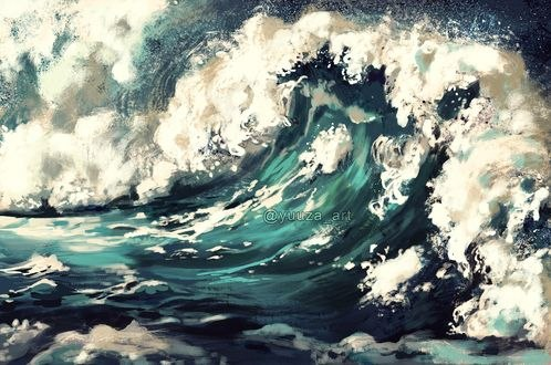 Обои Бушующее море, by Yuuza