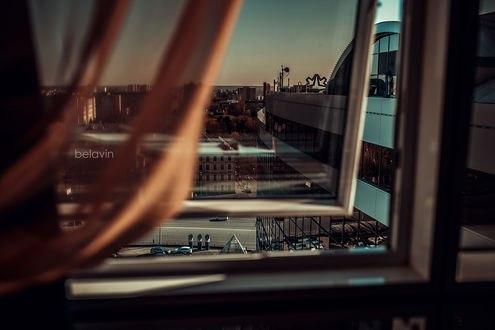 Обои Вид на город из окна, фотограф Alexander Belavin
