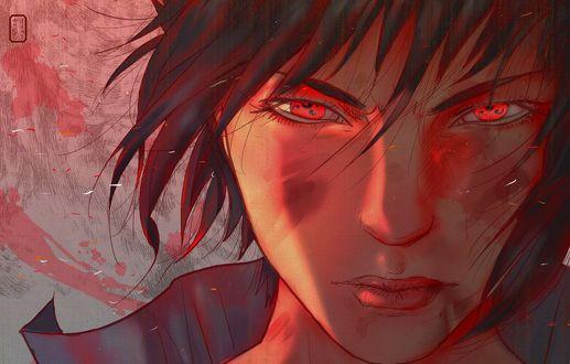 Обои Саскэ Учиха / Sasuke Uchiha из аниме Наруто / Naruto, by invisibleninja12