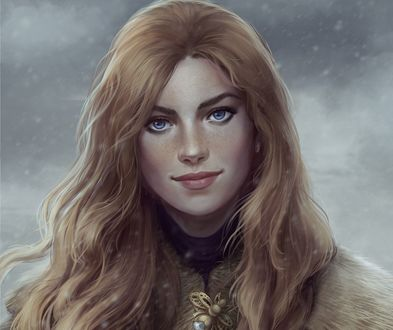 Обои Elantel / Элантел - дочь короля Мильдаре, by Cate Voynova