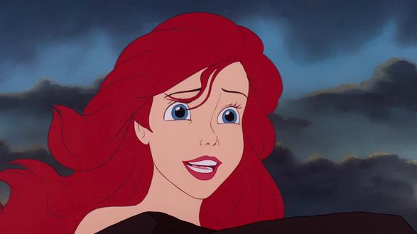 Обои Ariel / Ариэль героиня из мультфильма Tthe little mermaid / Русалочка