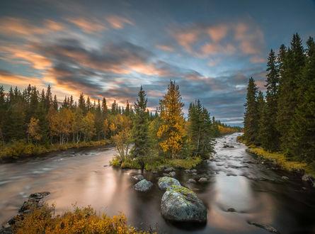 Обои Осенний пейзаж, фотограф Jоrn Allan Pedersen