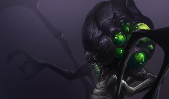 Обои Абатур / Abathur, персонаж игр Star Craft и Heroes of the Storm, автор KORHIPER