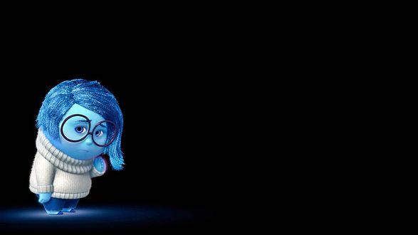 Обои Sandess / Печаль из мультфильма Inside Out / Головоломка