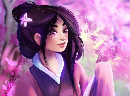 Обои Mulan / Мулан из мультфильма Mulan / Мулан, by Kachumi