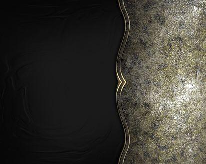 Обои Абстрактный черный фон с добавлением металла