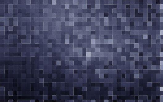 Обои Светло и темно синие квадраты