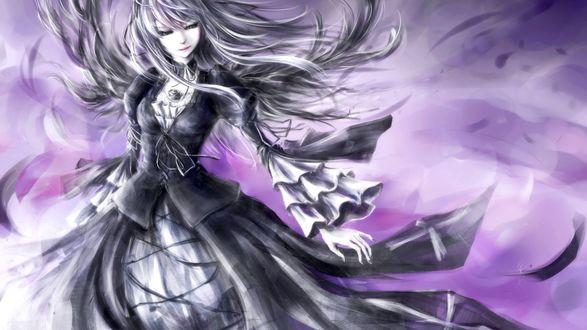 Обои Суйгинто / Suigintou из аниме Девы Розена / Rozen Maiden