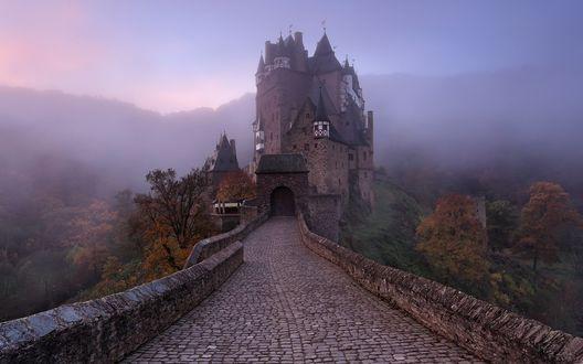Обои Дорога к castle Eltz / замку Эльц, Germany / Германия, фотограф Jeanny Mueller