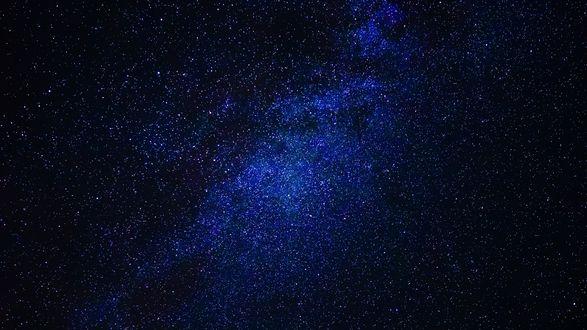 Обои Красивое звездное небо