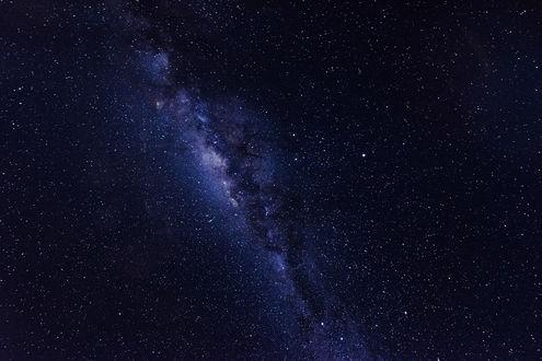 Обои Ночное небо холодной зимней ночью в Bolivia / Боливии, фотограф Mustafa Kasapoglu