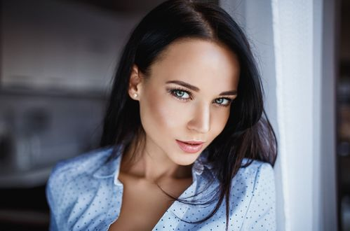 Обои Красивая модель Ангелина Петрова / Angelina Petrova