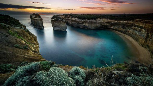 Обои Вид на красивое море и небо