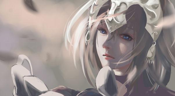 Обои Jeanne dArc / Жанна дАрк / Jeanne Alter / Альтер-Жанна из игры Fate / Grand Order