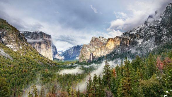 Обои Национальный парк Йосемити, США / Yosemite, USA
