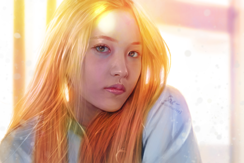 Обои Yeri / Йери / Ким Йе Рим / Kim Ye Rim из южно-корейской группы Red Velvet, by getyourdragon