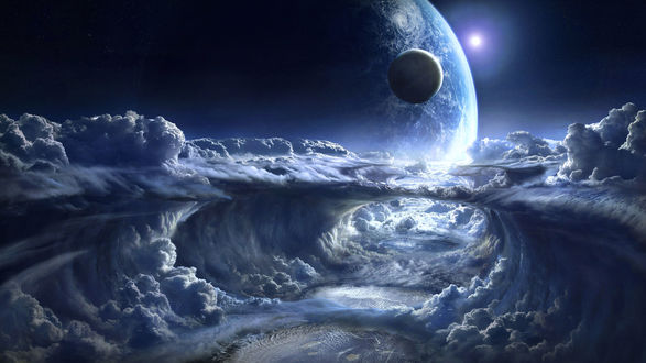 Самые красивые картинки космоса и планет