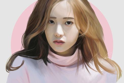 Обои Кристал Чон / Krystal Jung южнокорейская певица и актриса, by rhegrodriguez